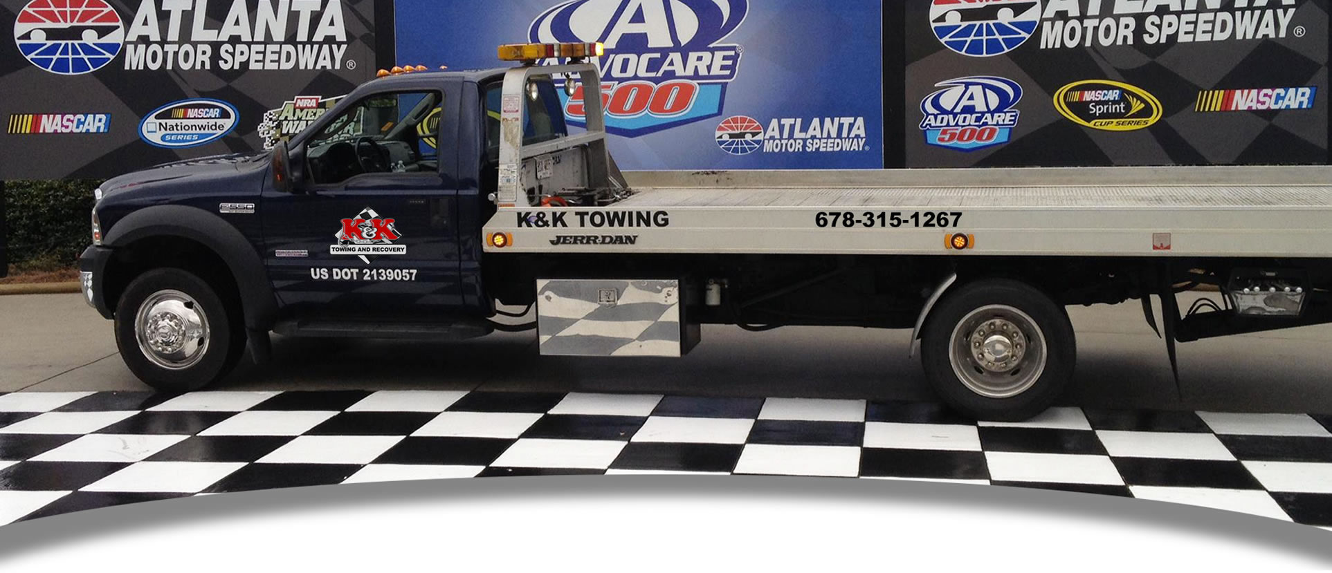 Home | K&K Towing and Recovery | Cumming, GA | Towing